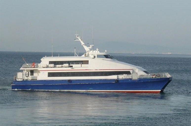 Passenger Catamaran 35m  – YachtGreece com